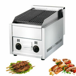 Commercial Gas Grill Bbq Equipment Heavy Duty Char Broiler Grill Cast Iron