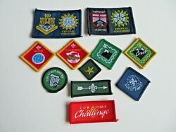 Reduced 11 Cub Scout Badges