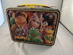 Vintage Jim Henson Muppets, Kermit The Frog Lunch Box 1979 W Thermos