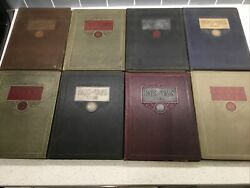 Raps And Taps St Christopher's Yearbook Lot Richmond, Va 1927 28 29 31 32 33 34 35