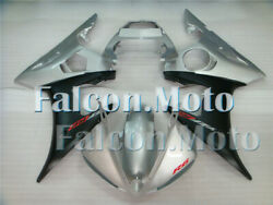 Fairing Injection Silver Black Bodywork Fit For Yzf R6 2003-2005 R6s 06-09 Ias