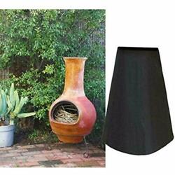 Outdoor Patio Chiminea Cover Waterproof Protective Chimney Fire Pit Heater For
