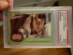 1977 Topps Star Wars 220 Iand039m Going To Regret This Psa 9