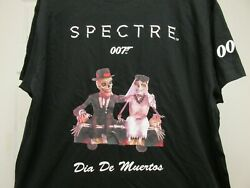 Spectre Xl James Bond 007 Day Of The Dead Film Crew Promo Shirt No Time To Dieandnbsp
