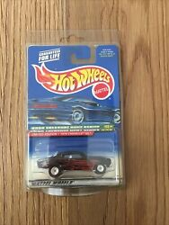 2000 Hot Wheels Treasure Hunt #60 Black 1970 Chevelle SS w Real Riders protector
