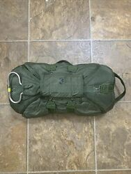 2005 Dated T10r T-10r Reserve Parachute Container Canopy Airborne Airworthy Nice