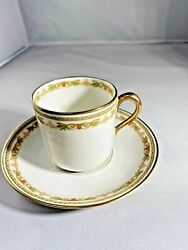Theodore Haviland Limoges France Tea Cup And Saucer Antique