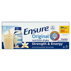 Ensure Original Nutrition Meal Replacement Shakes 9g Of Protein 8 Fl Oz 24 Ct