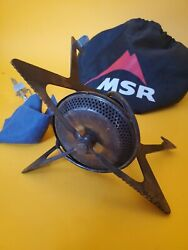 MSR FOLDING Backpacking Stove HIKING CAMPING WITH BAG 009022 $65.19