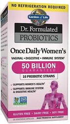 Garden Of Life Dr. Formulated Womenand039s Probiotics - 30 Veg Capsules Exp 04/2023