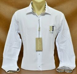 Brand New MEN#x27;S BURBERRY Long Sleeve SHIRT Classic Fit Size Small to 2XL $65.90