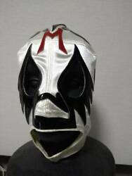 Mil Máscaras Private Mask, Autographed In 1999, With Tag, Zipper Type
