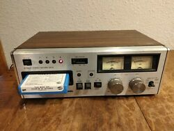 Panasonic Rs-808 8 Track Tape Deck Player Stereo