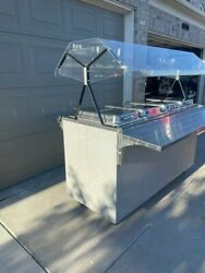 Vollrath 38730 Affordable Portable 60 4 Well Hot Food Station 120v - Used