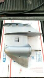 1988 Evinrude Johnson 9.9 15 Hp Outboard Lower Unit Gearcase Foot 9.9hp 15hp