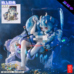 Cochlear Shell Octopus Girl 1/3 Scale Resin Model Painted Statue Pre-order H27cm