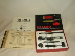 Lee Loader 308 Win Hand Loading Tools Box Charge Table 1963 Nice Shape