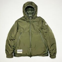 100 Authentic Moncler Laurain Green Down Puffer Jacket Size 4 X-large Mens Xl