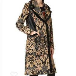 Free People Jacquard Tapestry Coat Size S NWOT Sold Out
