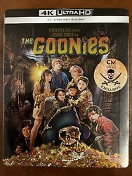 The Goonies Cinemuseum Limited Edition 4k Uhd Steelbook New Sealed And Rare