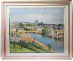 Georges Frederic Morvan Andoumll Auf Leinwand/oil On Canvas Signed G.f.morvan