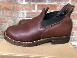 Wesco Romeo Boots Size 9 In Very Good Condition Vibram Soles.