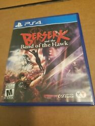 Berserk And The Band Of The Hawk Ps4 Tested Cib Complete Playstation Four
