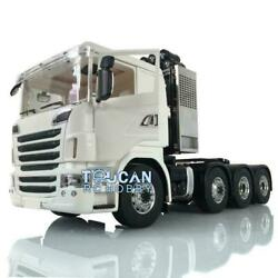 1/14 Rc Lesu 8x8 Tractor Truck Metal Chassis Rack Hercules R730 Cabin For Scania