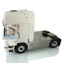 Lesu 1/14 4x4 Chassis Light Hercules Highline Cab Rc Tractor Truck For Scania