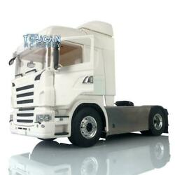 1/14 4x4 Metal Chassis 2speed Hercules Cabin Rc Tractor Truck Light For Scania