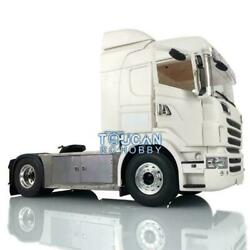 1/14 4x4 Chassis Rc Tractor Truck Differential Axle Hercules R730 Cab For Scania