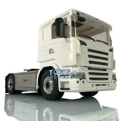 1/14 4x4 Chassis Hercules Cabin Rc Tractor Truck Radio Sound For Scania Tamiya