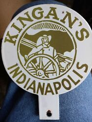 Kinganand039s Meat Company License Plate Topper/irish Owned 6 Diameter 450 O.b.o.