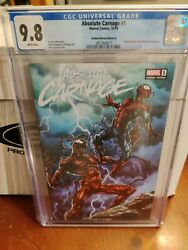 Marvel Comics Absolute Carnage 1 Slabbed Heroes Variant Cgc 9.8 Comic Book