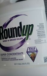 Roundupandtrade 1 Gallon Super Concentrate Weed And Grass Killer- Free Shipping