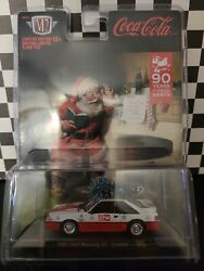 M2 Coca Cola Christmas 2021 1987 Ford Mustang Gt