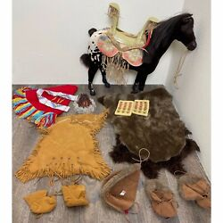 American Girl Kaya Native American Indian Doll Accessories Horse And Clothing Set
