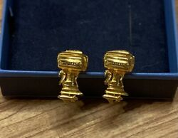 Vintage 1960and039s Johnson Outboard Cuff Links 100 Hp Omc Johnson Meteor Motors
