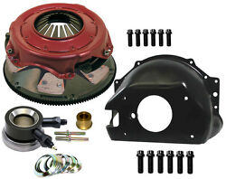 Stock Clutch,bellhousing,and Throwout Bearing Kit,ram Pressure Plate,6 Paddle Disc