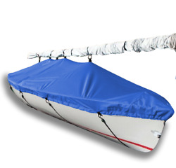 Mutineer Sailboat - Boat Deck Cover - Polyester Royal Blue Top Cover - Usa Made