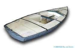 Lido 14 Sailboat - Boat Hull Cover - Polyester Charcoal Gray Bottom Cover