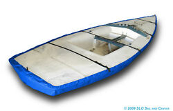 Laser Ii Sailboat Hull Cover - Sunbrella Pacific Blue Boat Bottom Cover