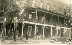 Rppc Ny Port Leyden Hotel Visible Gas Pumps Station Lewis County