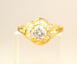 18k Yellow Gold Diamond Ring .89 Carat Tw Includes Independent 2430 Appraisal