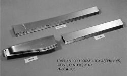 Ford 4d Sedan Business Biz Coupe Delivery Woody Right Rocker Box Kit 1941-48 Ems