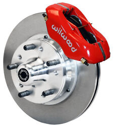 Wilwood Disc Brake Kitfront73-78 Dodge Charger11 Rotorsred Calipers