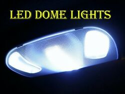 99-10 FORD SUPERDUTY LED CAB INTERIOR DOME LIGHTS BULBS