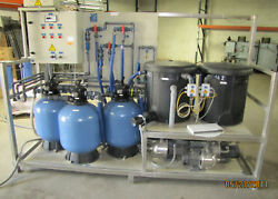 Herco 2 Cycle Water Recirculation Filtration Filter Sys 980759/98522042