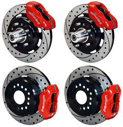 WILWOOD DISC BRAKE KIT,55-57 CHEVY 150,210,BEL AIR,12