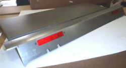 Ford Model A Pickup Bed Roll Pan W/lights Plain 28-31